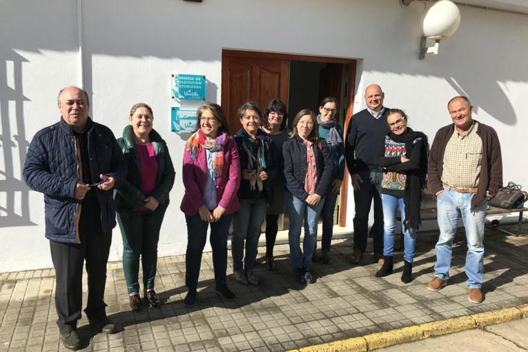 Visita oficial a la Agencia de Colocación Autorizada de Islantilla y a la Fundación 'Centro de Estudios Marinos'