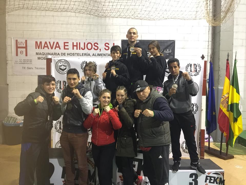 Oro, plata y bronce para el Club Vip Gim de Isla Cristina en el Open Fightextrem