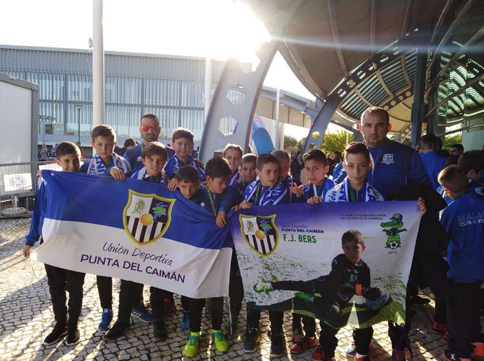 El Alevín de la UD Punta del Caimán participó en la Algarve Youth Cup