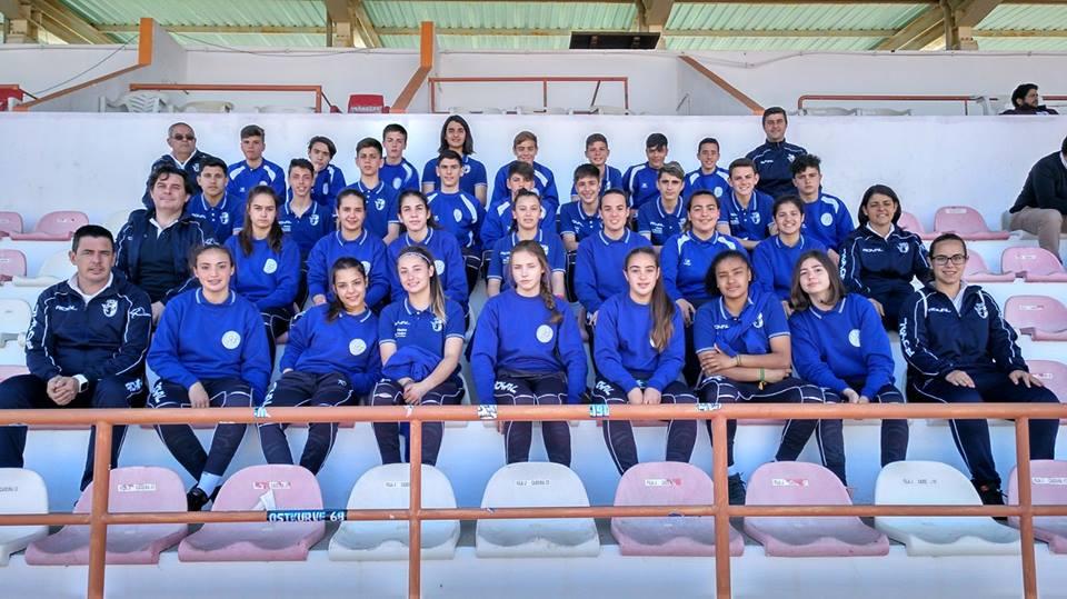 Las selecciones provinciales infantil masculina y sub-17 femenina en la Copa Ibérica