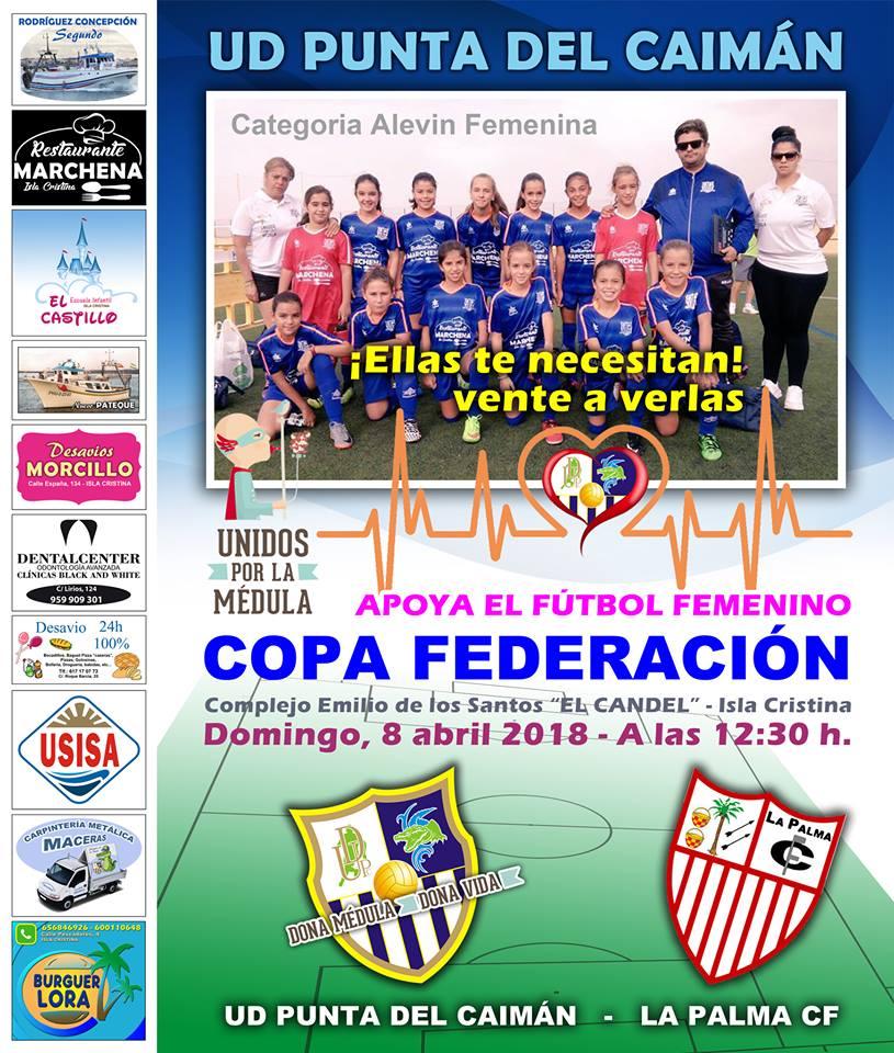 Debut en Copa del Alevín femenino del Punta del Caimán