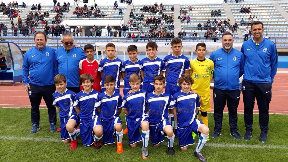 Finalizó la andadura de la selección onubense alevín en el Campeonato de Andalucía