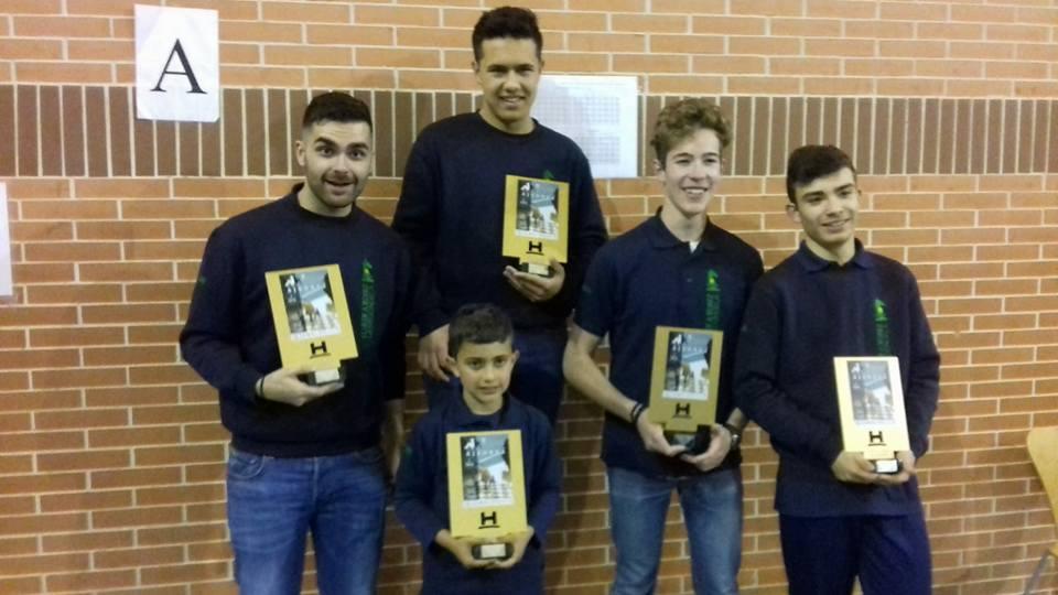 El Club Ajedrez La Redondela Campeón Interescolar Onubense