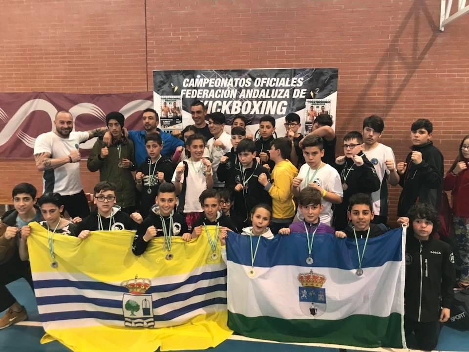 Lluvia de medallas para el Club Mushindo en el Provincial de Sevilla