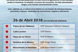 Recorrido Literario de la Comunidad Educativa de Isla Cristina