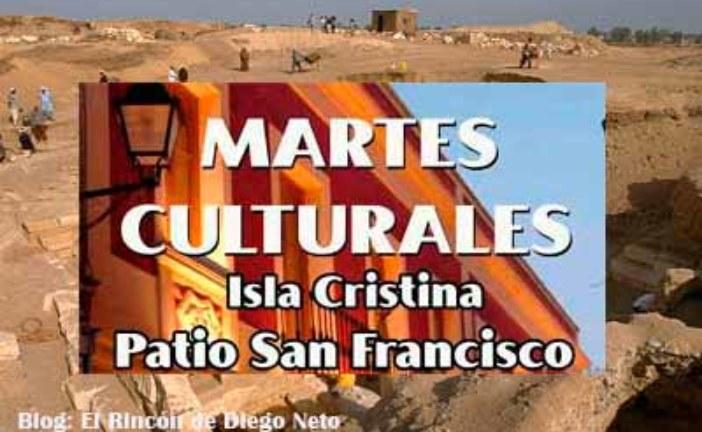 """El Arte de Francisco Eugenio Gómez, en los """"Martes Culturales"""" de Isla Cristina"""