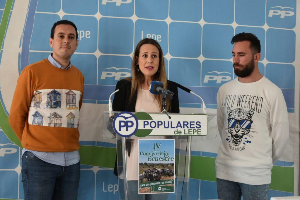 Nuevas Generaciones del Partido Popular de Lepe presenta la IV Convivencia Ecuestre