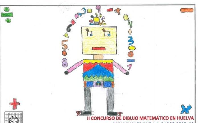 María Salas, del Colegio Platero Premiada en el Concurso de Dibujo Matemático