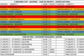 """Partidos y horarios de la """"II Mojama Cup"""" a celebrar en Isla Cristina"""
