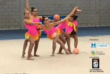 La final de la gimnasia rítmica del programa 'La Provincia en Juego' en Isla Cristina