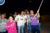 Los madridistas isleños salen a la calle para festejar la 'decimotercera'