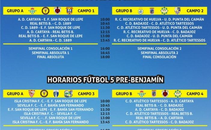 """La Cantera de Isla Cristina participa en el VI Torneo de Fútbol """"Ciudad de Lepe"""""""