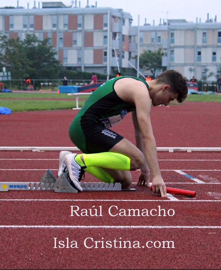 El atleta isleño Raúl Camacho compite en la Copa de Europa de Clubes Sub 20