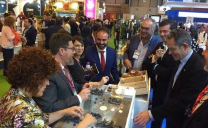 Diputación muestra la excelencia agroalimentaria de Huelva en el Salón de Gourmets de Madrid