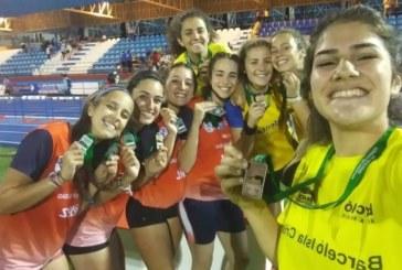 Nuevo éxito del Club Atletismo Isla Cristina con 9 medallas en el andaluz sub-18