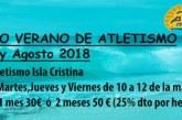 En marcha la Escuela Deportiva de Verano del Club Atletismo Isla Cristina