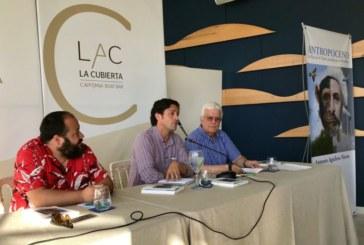 """El escritor isleño Antonio Aguilera Nieves presenta su libro """"Antropoceno"""""""