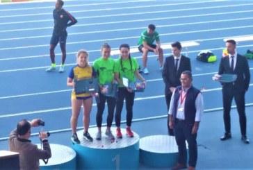 La atleta isleña Eva Cárdenas, Plata en el Meeting Iberoamericano de Atletismo