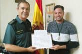 Antonio Pérez Silva dedica una composición musical al Coronel de la Guardia Civil de Huelva