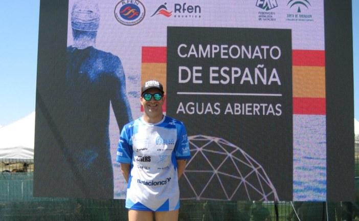 Rubén Gutiérrez, 8º puesto en el Nacional de Aguas Abiertas, Sevilla
