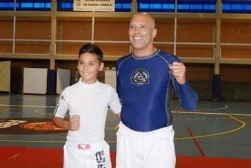Daniel Rodríguez compartió clase con el súper campeón de lucha Royce Gracie