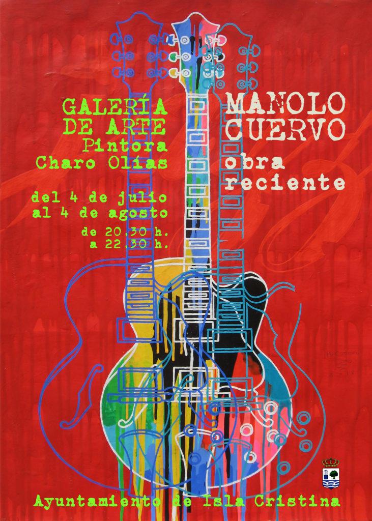 Inauguración de la Exposición de Manolo Cuervo en Isla Cristina