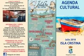 Programación Cultural para el mes de julio en Isla Cristina