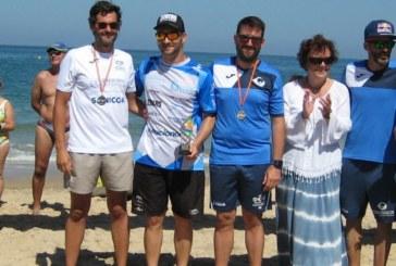 El nadador Rubén Gutiérrez suma y sigue, esta vez en Rota