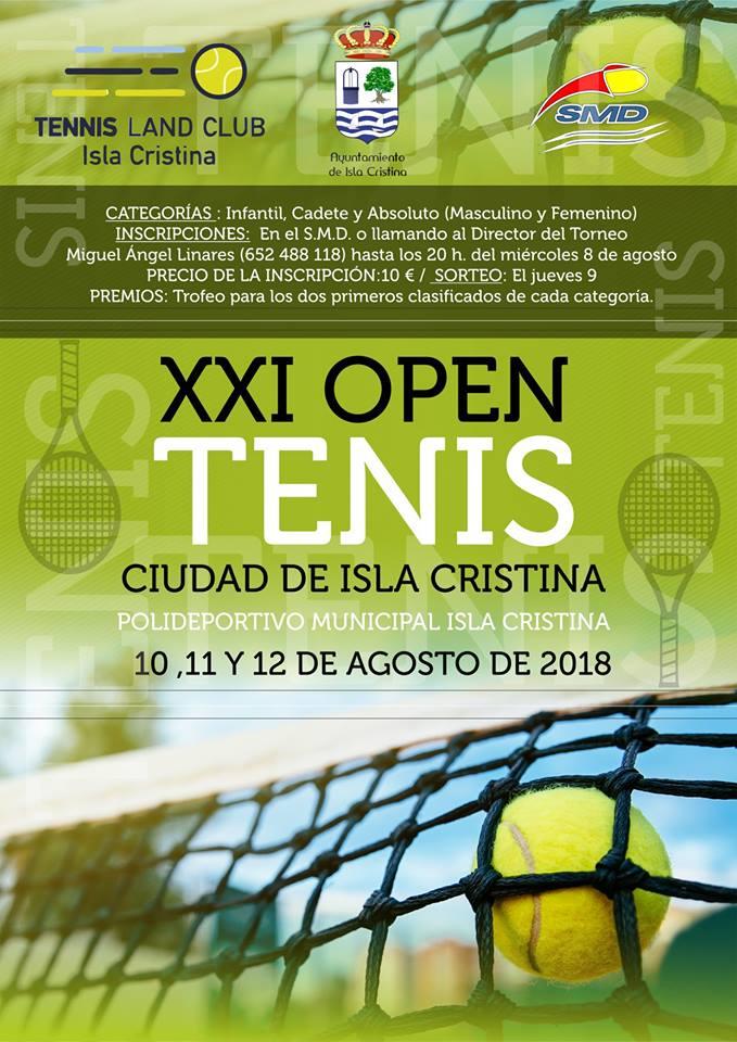 XXI Open Tenis Ciudad de Isla Cristina