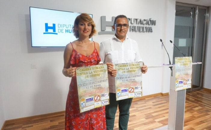 Presentada en Diputación, la Cadena Humana contra la Violencia de Género