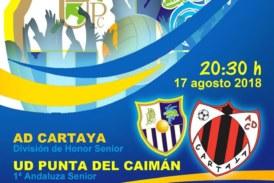 Cartaya vs Punta del Caimán, este viernes en Isla Cristina