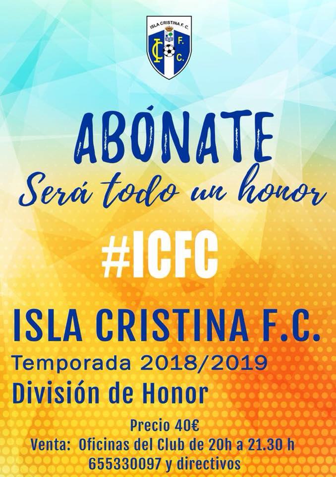 Amistoso y Trofeo esta semana en la agenda del Isla Cristina FC