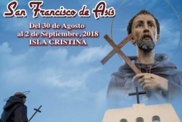 Programación Fiestas San Francisco de Asís 2.018 a celebrar en Isla Cristina