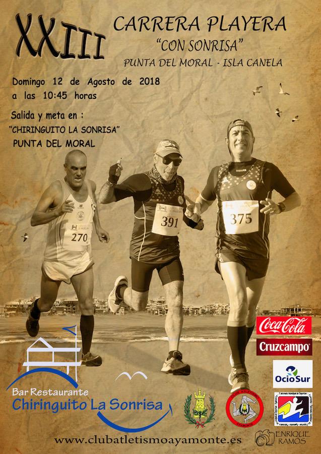 XXIII Carrera Playera de Ayamonte «Con Sonrisa»