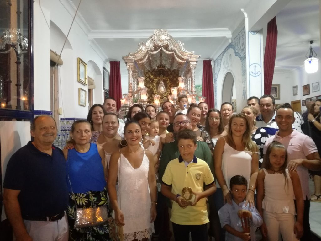 Hermosa Salve Rociera de la «Casa la Picarona» en Isla Cristina