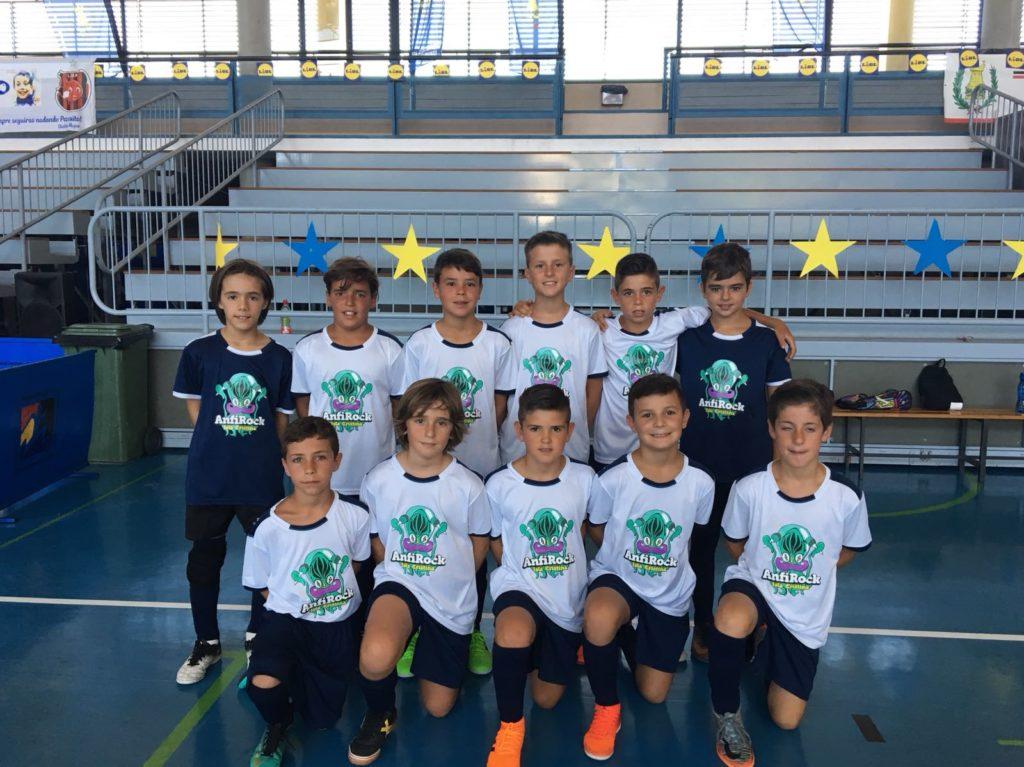 """Los Benjamines del Anfirock, Campeones del «X Torneo de fútbol-sala """"Buscamos una estrella"""""""