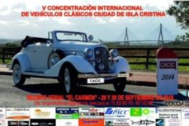 """Abierto el plazo de inscripción para la """"V Concentración Internacional de Vehículos Clásicos """"Ciudad de Isla Cristina"""""""