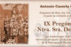IX Pregón de Ntra. Sra. del Mar a cargo de Antonio Cazorla
