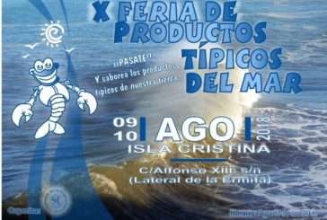 X Feria de Productos Típicos del Mar de Isla Cristina