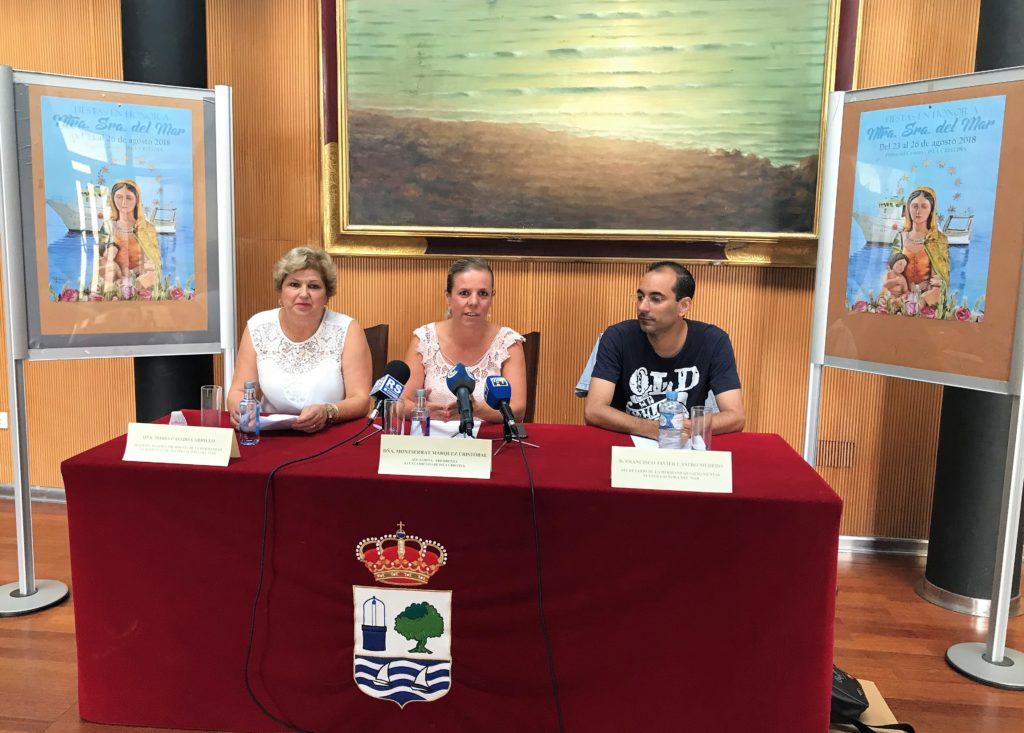 Presentada las Fiestas en Honor a la Virgen del Mar de la barriada isleña de Punta del Caimán