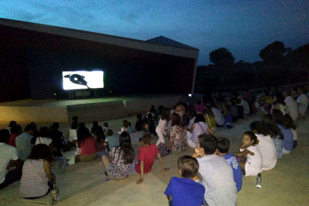 Cine infantil y de animación en el 'Minifórum' de Islantilla