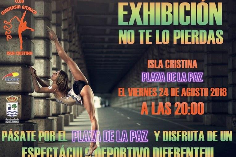 Exhibición de Gimnasia Rítmica en Isla Cristina