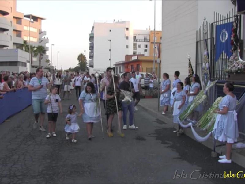 Programación domingo fiestas Virgen del Mar 2018