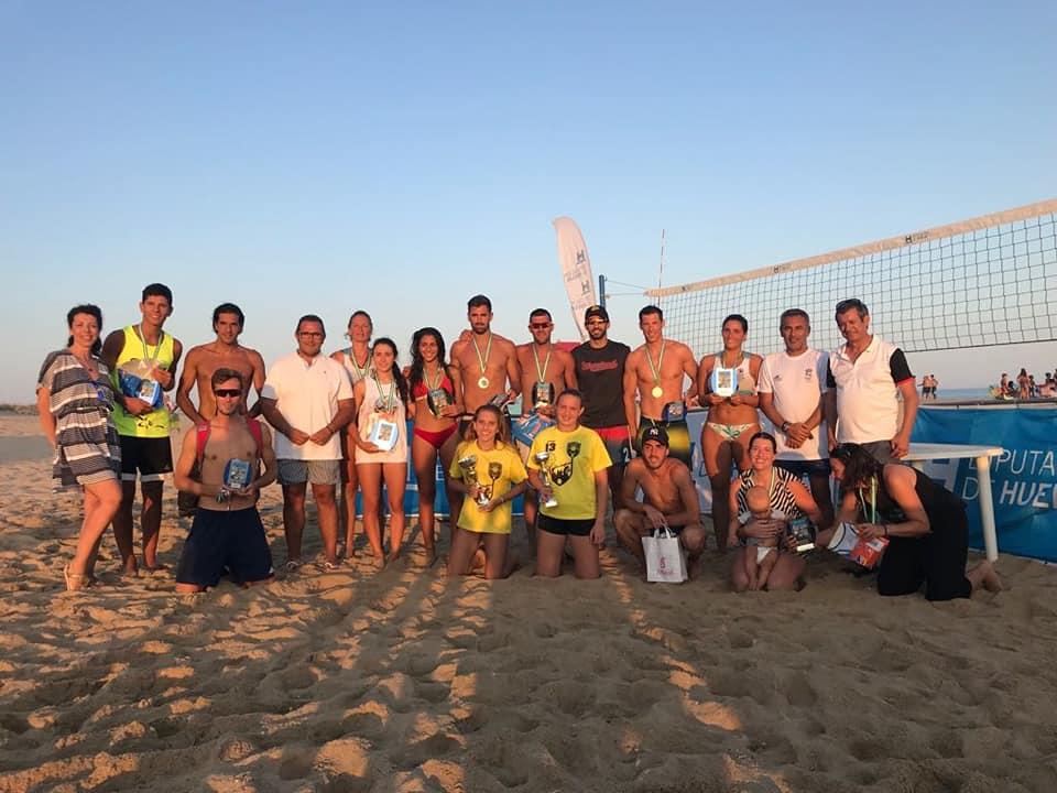 Los sevillanos Rincón y Rubio Campeones del Circuito Provincial de Voley Playa 2018