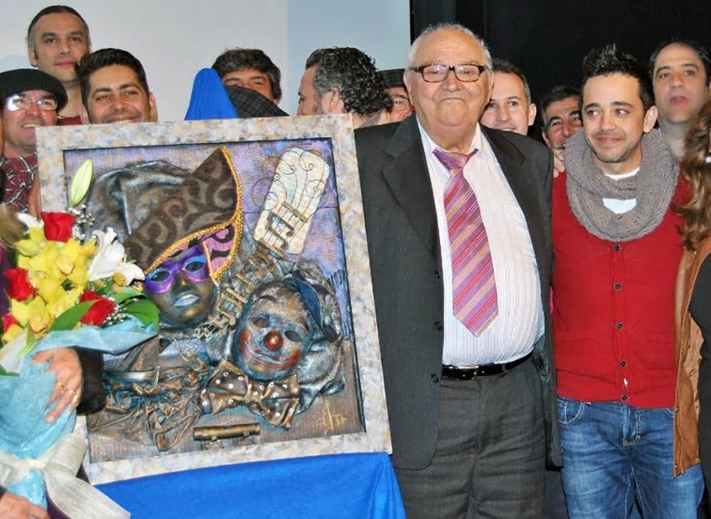El Carnaval de Isla Cristina llora la pérdida de Paco Bueno