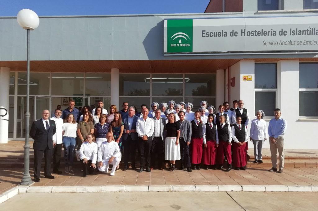 Islantilla celebra la reapertura de su Escuela de Hostelería