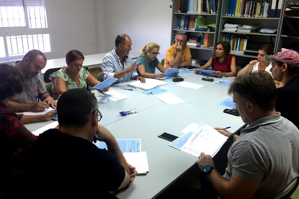 Reunión para definir el XXI Plan Agrupado de Formación Continua de Islantilla, Lepe e Isla Cristina