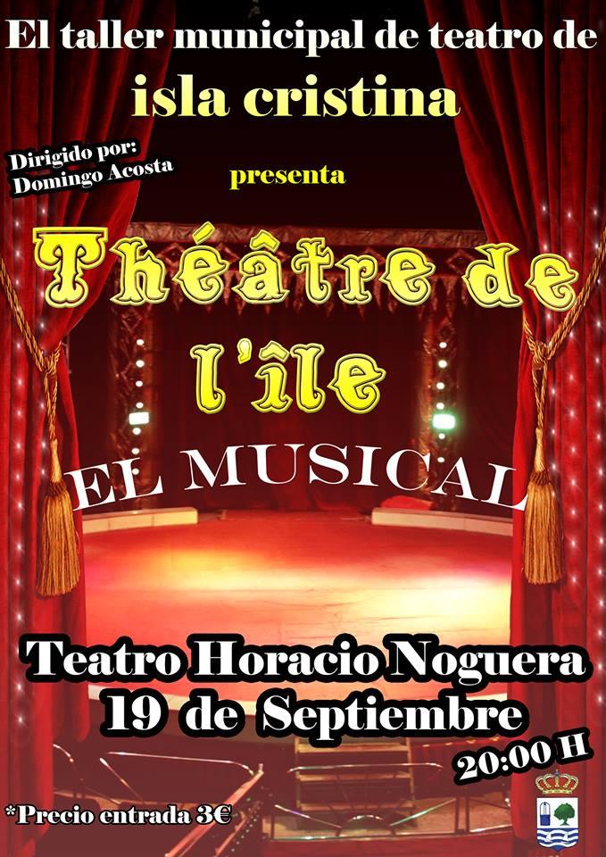 """El Musical """"Théâtre de l'île"""" desembarca en Isla Cristina"""