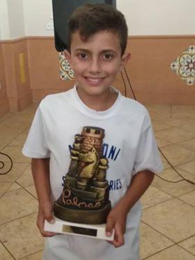 Kevin Irala tercer clasificado del V Torneo Internacional de Ajedrez «Ciudad de La Palma»