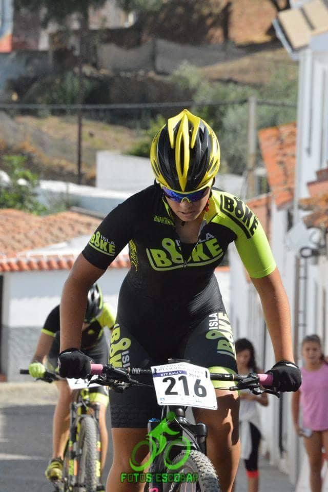Marta Núñez 1ª clasificada en el Rally de Puebla de Guzmán